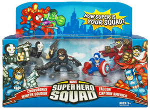 Super Hero Squad: Winter Soldier 4-Pack