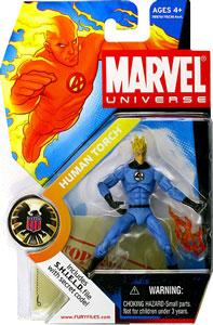 Marvel Universe - Regular Light Blue Human Torch