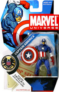 Marvel Universe - Captain America 012