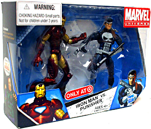 Marvel Universe - 2-Pack - Iron Man Vs Punisher