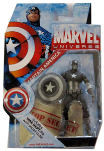 Marvel Universe - SDCC Captain America Black and White