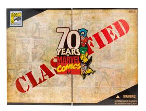 Marvel Universe - SDCC Invaders Box Set [Captain America, Red Skull, Namor, Human Torch]