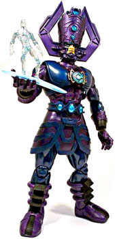 Marvel Universe - 19-Inch Dark Galactus Collectors with Silver Surfer
