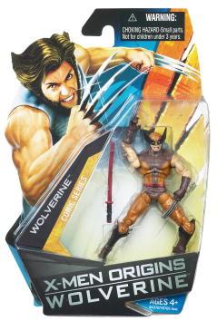 Wolverine Movie: Brown Costume Wolverine