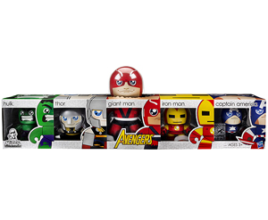Mighty Muggs - SDCC 2011 - Avengers Box Set (Hulk, Thor, Giant Man, Iron Man, Captain America)