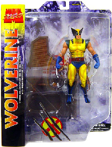 Marvel Select Yellow Costume Wolverine