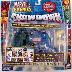 Showdown - Mr Fantastic Vs MoleMan Starter Set