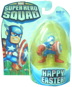 Super Hero Squad - Happy Easter Captain America