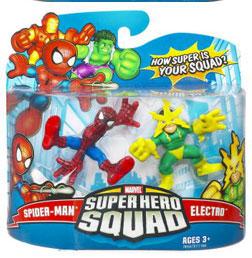 Super Hero Squad - Spider-Man and Electro