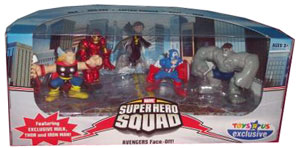 Marvel Super Hero Squad Avengers Face-Off