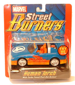 Flame-On Human Torch
