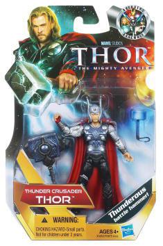 Thor Movie - 3.75-Inch Thunder Crusader Thor