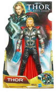 Thor Movie - 8-Inch The Might Avenger Thor with Clear Hammer