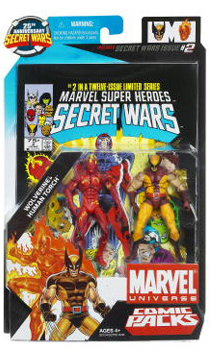 Marvel Universe Comic Pack - Human Torch and Wolverine