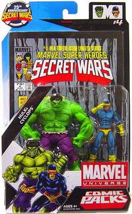 Marvel Universe Comic Pack - Hulk and Cyclops