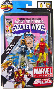 Marvel Universe Comic Pack - Iron Man and Spider-Woman