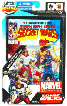 Marvel Universe Comic Pack - Hawkeye and Piledriver