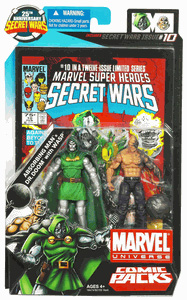 Marvel Universe Comic Pack - Dr Doom and Absorbing Man
