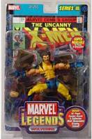 Marvel Legends Series 3 Wolverine UnMasked  Variant