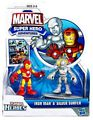 Marvel Super Hero Adventures - Iron Man and Silver Surfer
