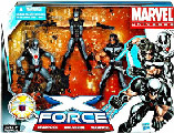 Marvel Super Hero Team Pack - X-Force (Deadpool, Warpath, Wolverine)