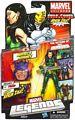 Marvel Legends 2012 - BAF Arnim Zola - Madam Masque Green Variant