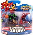 Super Hero Squad - Comic Green Goblin and  Spider-Man
