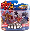 Super Hero Squad - Iron Man and Deathlok