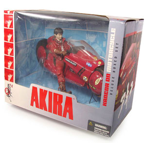 3D Animation - Kaneda With Motorcycle Boxset