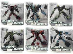 Mcfarlane Cyber Units Series 1 Set of 6