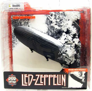 3D Album Cover Led Zeppelin