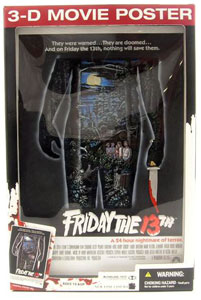 MCFARLANE 3D MOVIE POSTER FRIDAY 13TH