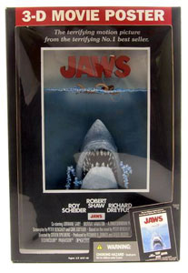 MCFARLANE 3D MOVIE POSTER JAWS