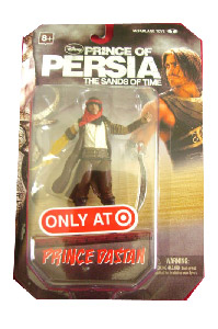 Prince Of Persia - 4-Inch Prince Dastan Exclusive Yellow Arm