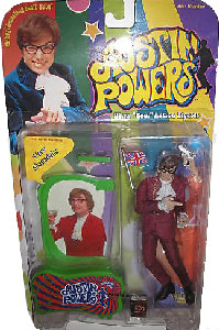 Austin Powers - Austin Powers with Suit