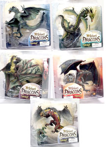Mcfarlane Dragon Series 2 set of 5