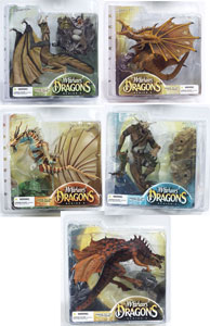Mcfarlane Dragons Series 3 set of 5