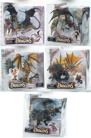 Mcfarlane Dragons Series 4 Set of 5