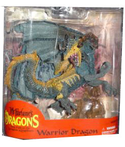 Warrior Dragon Clan 2 Series 7 - Blue Variant