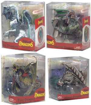 Mcfarlane Dragon Series 7 Set of 4