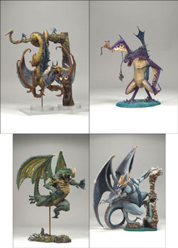 Mcfarlane Dragons Series 8 Set of 4
