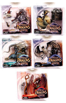 Mcfarlane Dragons Series 1 Set of 5