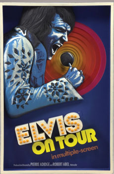 Elvis on Tour 3-D Wall Art