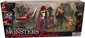 Mcfarlane Monsters Femme Fatales Box Set