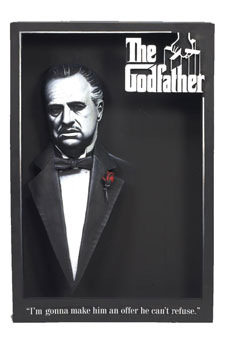 3D Poster - The Godfather