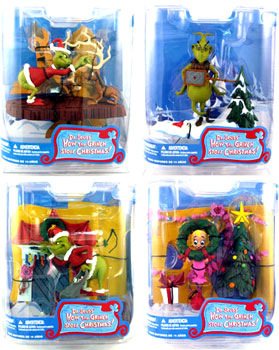 Mcfarlane The Grinch Set of 4
