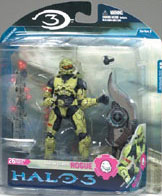 Halo 3 Series 3 - Spartan Soldier Rogue Olive