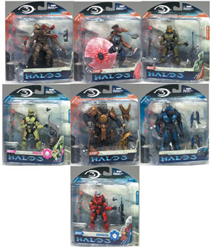 Halo 3 Series 3 - Set of 7