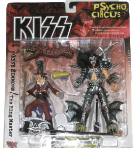 Kiss Psycho Circus Deluxe - Gene Simmons and The Ring Master