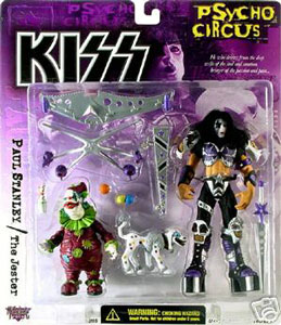 Kiss Psycho Circus Deluxe - Paul Stanley with The Jester